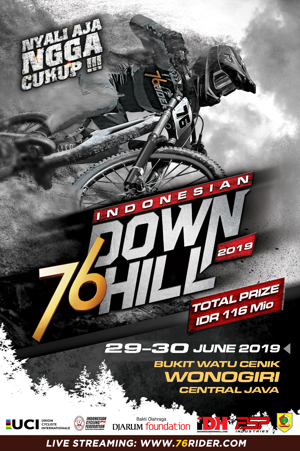 76Indonesian Downhill 2019 #1