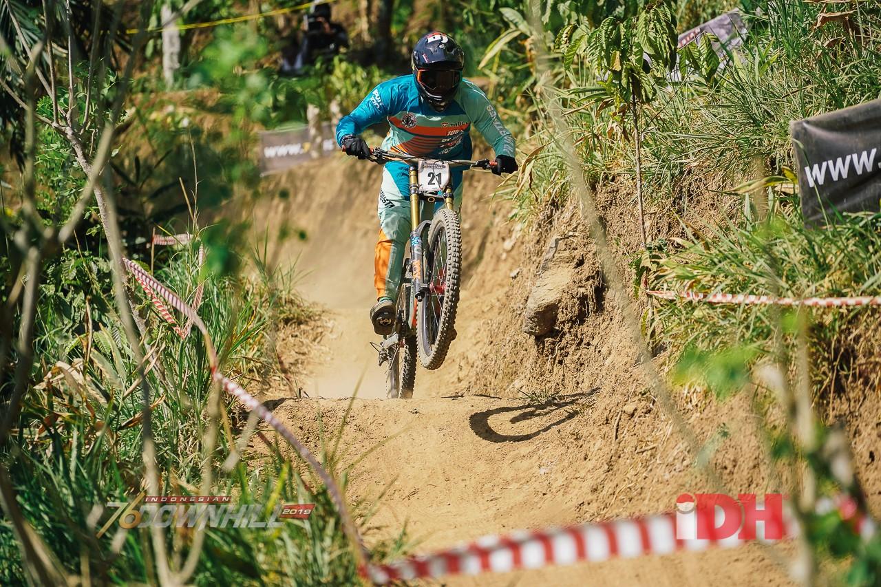 Peraih Juara Indonesia Downhill Di Ternadi Park Bakal Peroleh Poin Internasional